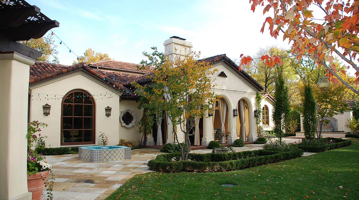 Casas tipo colonial.
