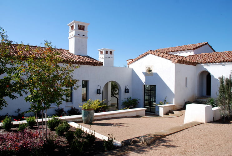 Casa estilo colonial.