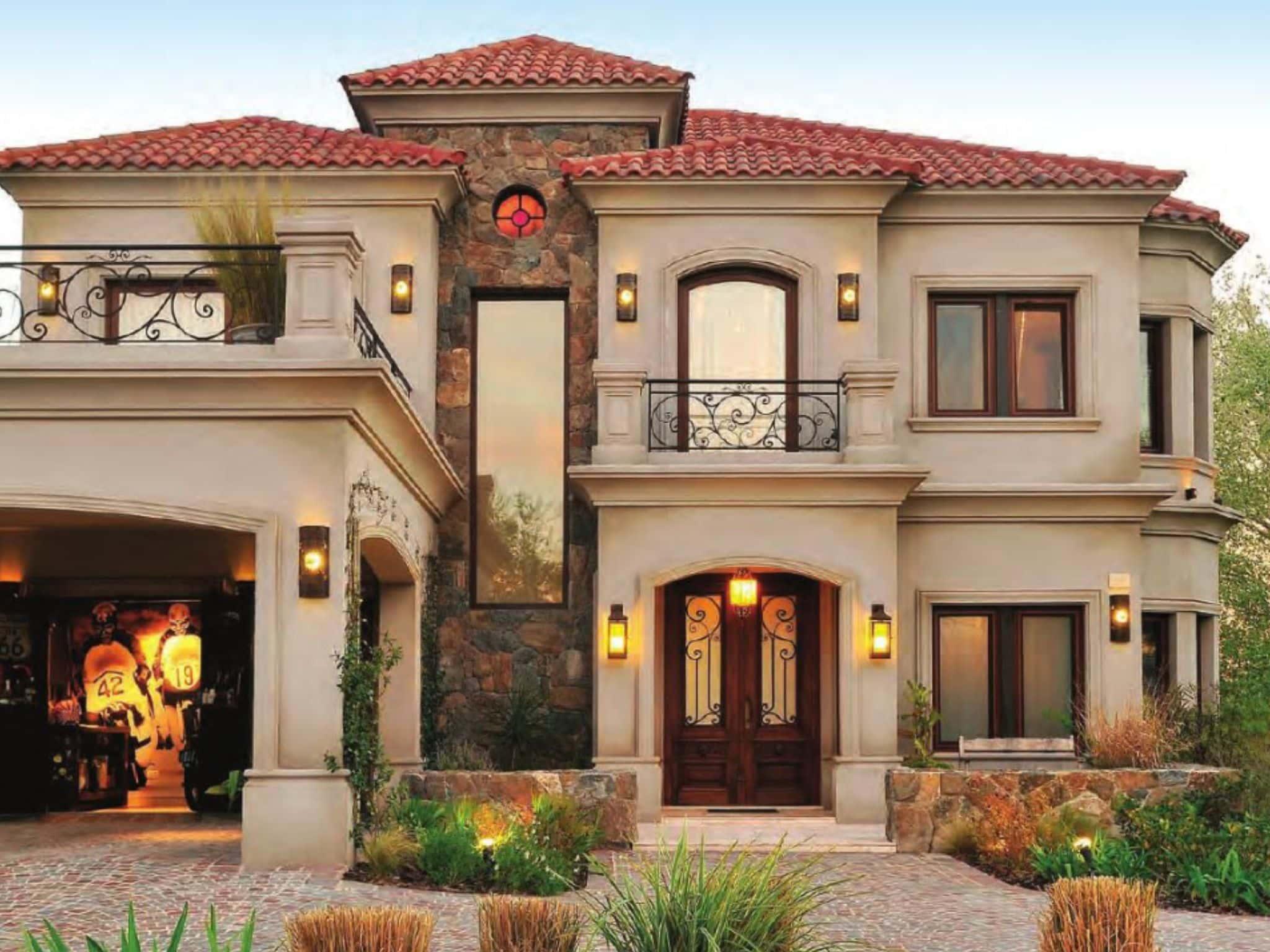 Fachadas Coloniales Modernas Con Diseños Atractivos