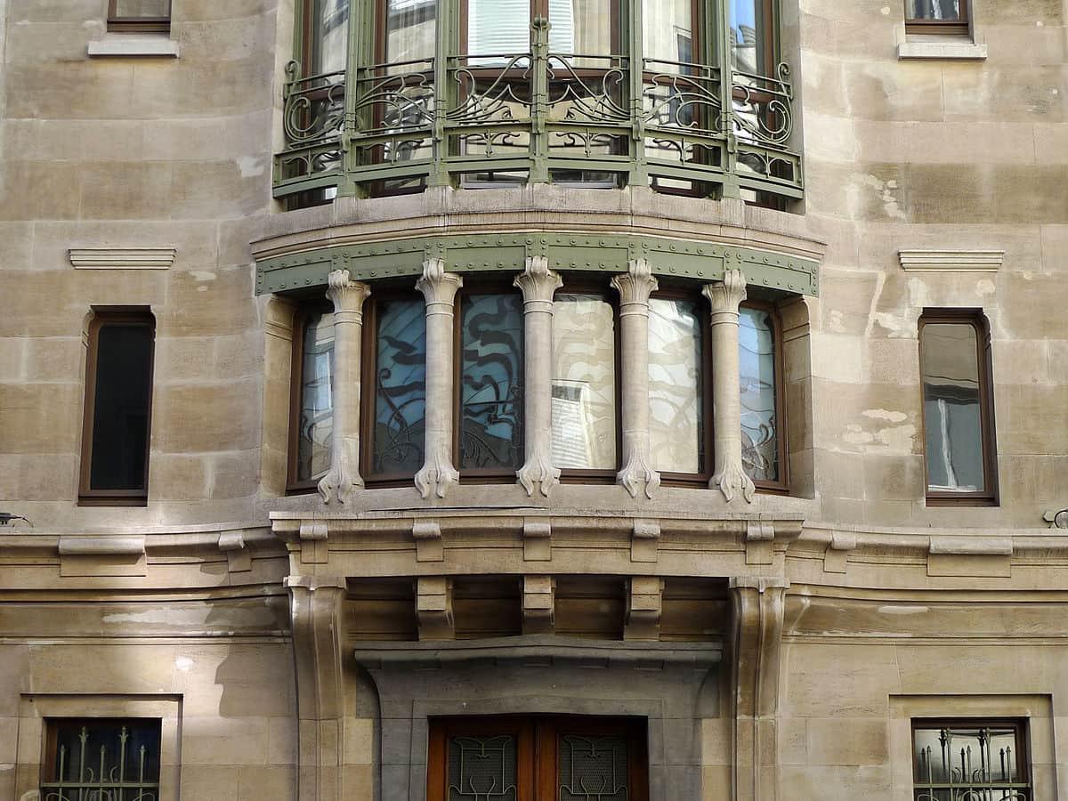 La Casa Tassel diseñada por Víctor Horta, en Bruselas Bélgica.