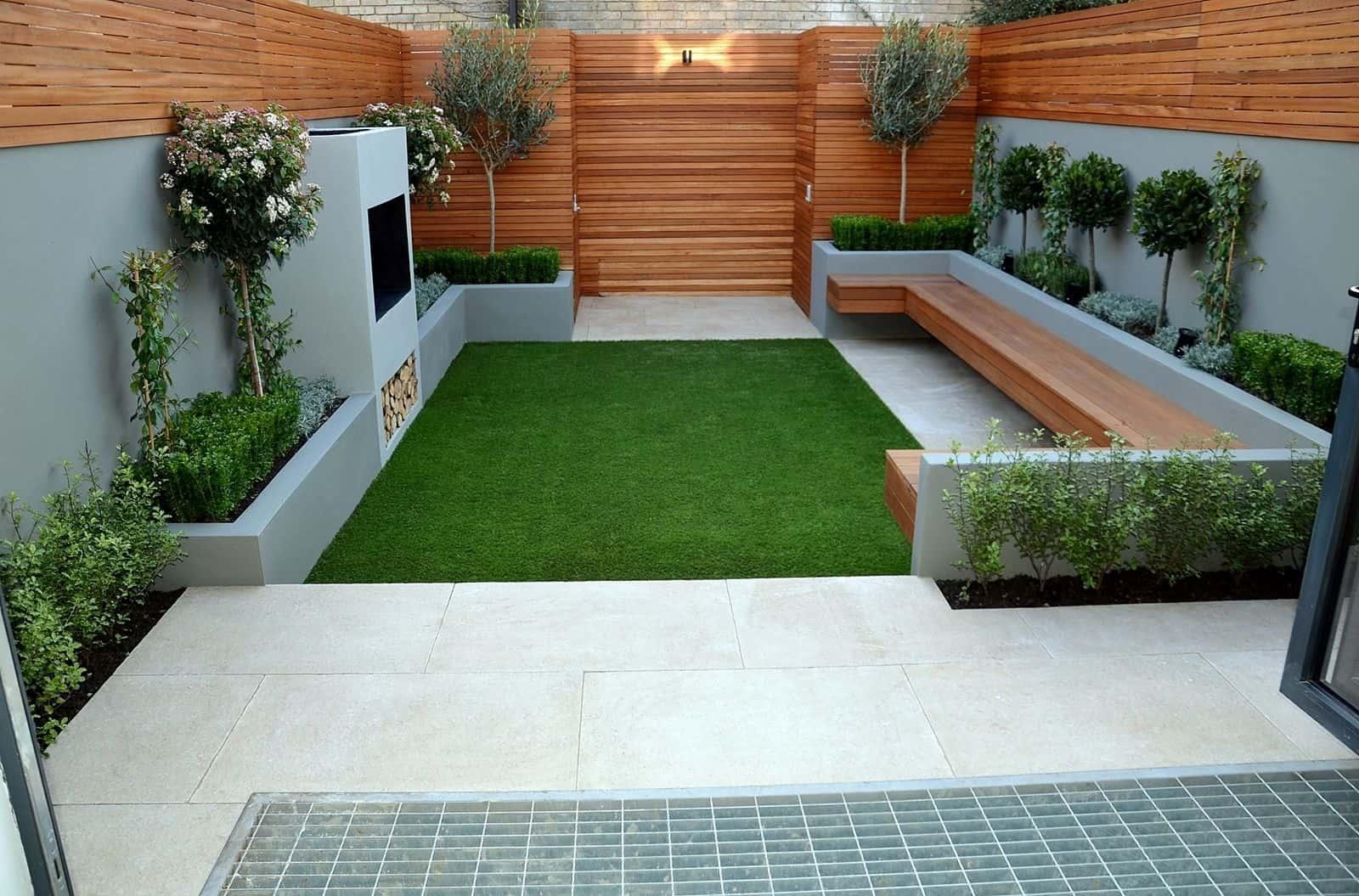 Jardines pequeños útiles y atractivos.