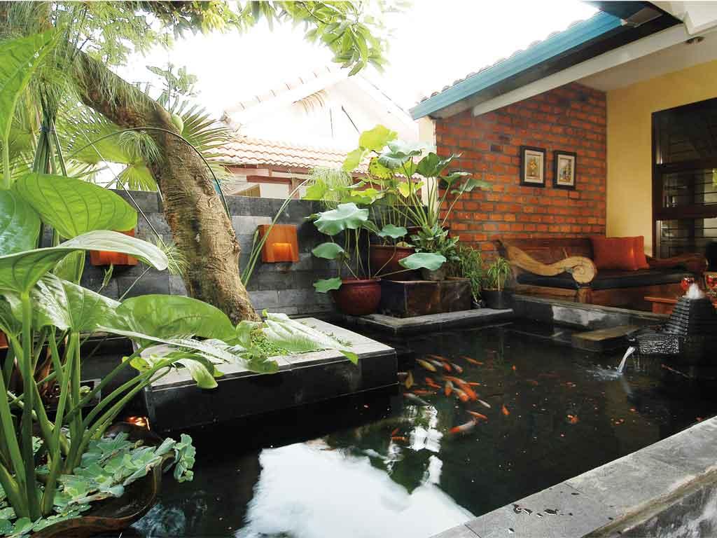 Jardines pequeños y relajantes
