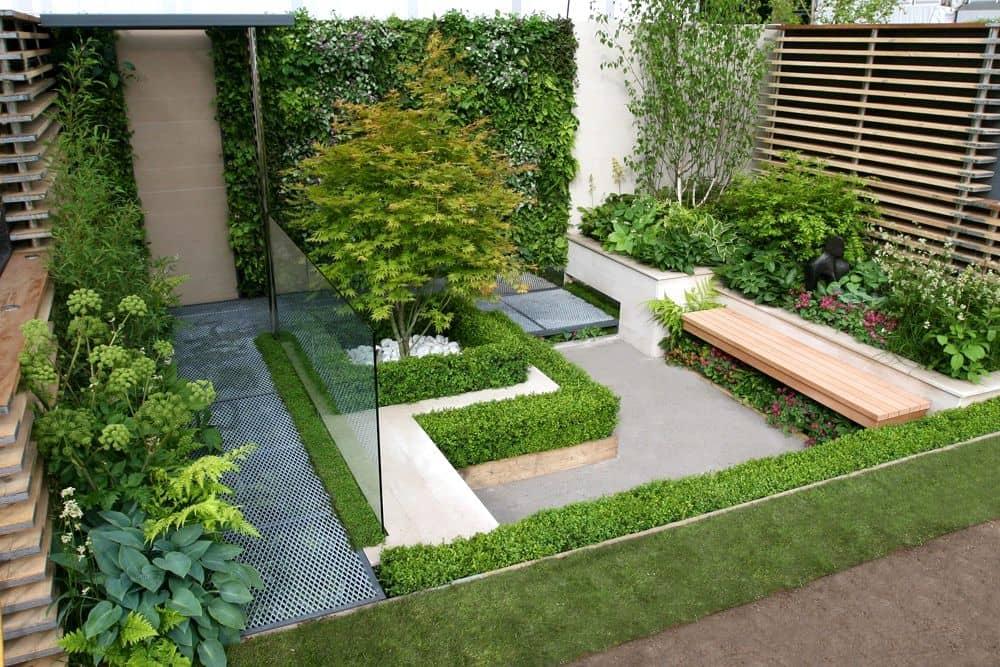 Diseño de jardines para casas pequeñas.