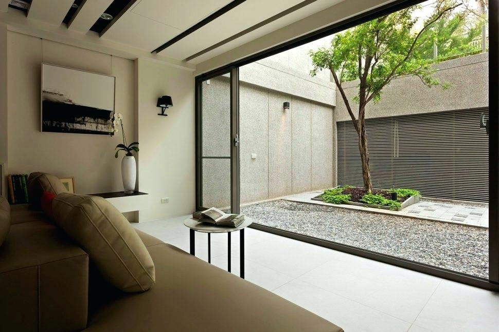 Diseño de jardines minimalista.