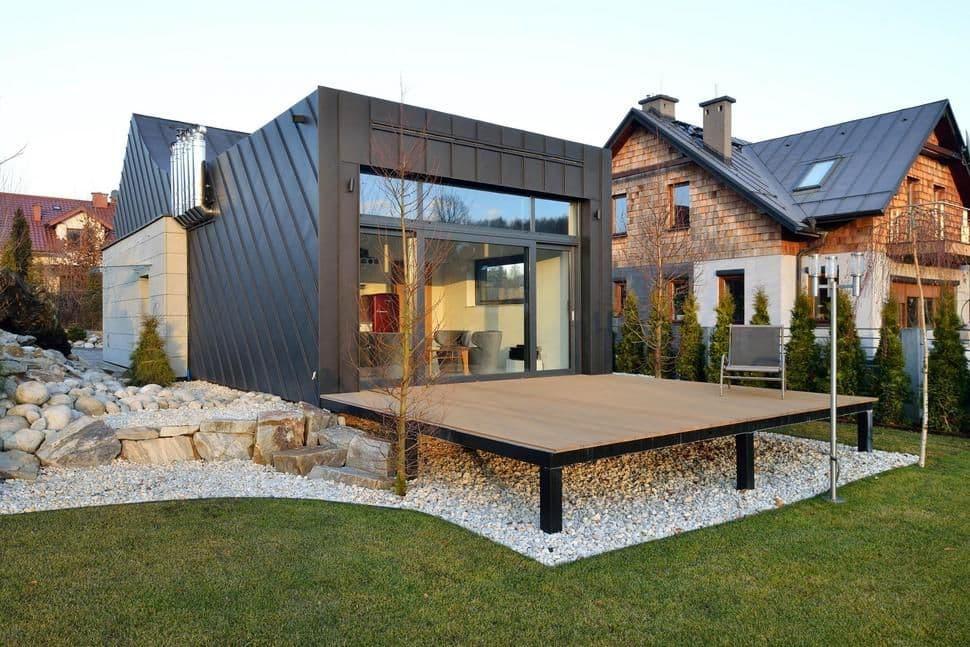 Fachadas modernas minimalistas.
