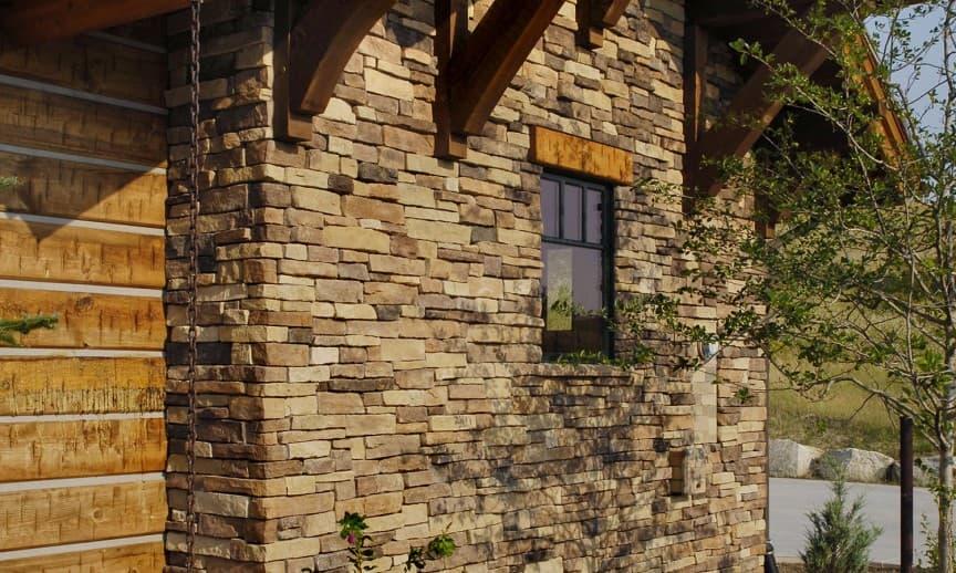 Fachadas de piedra natural.