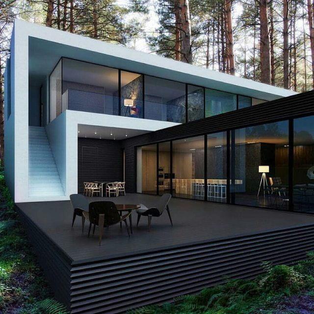Herrería en fachadas como elemento estructural.