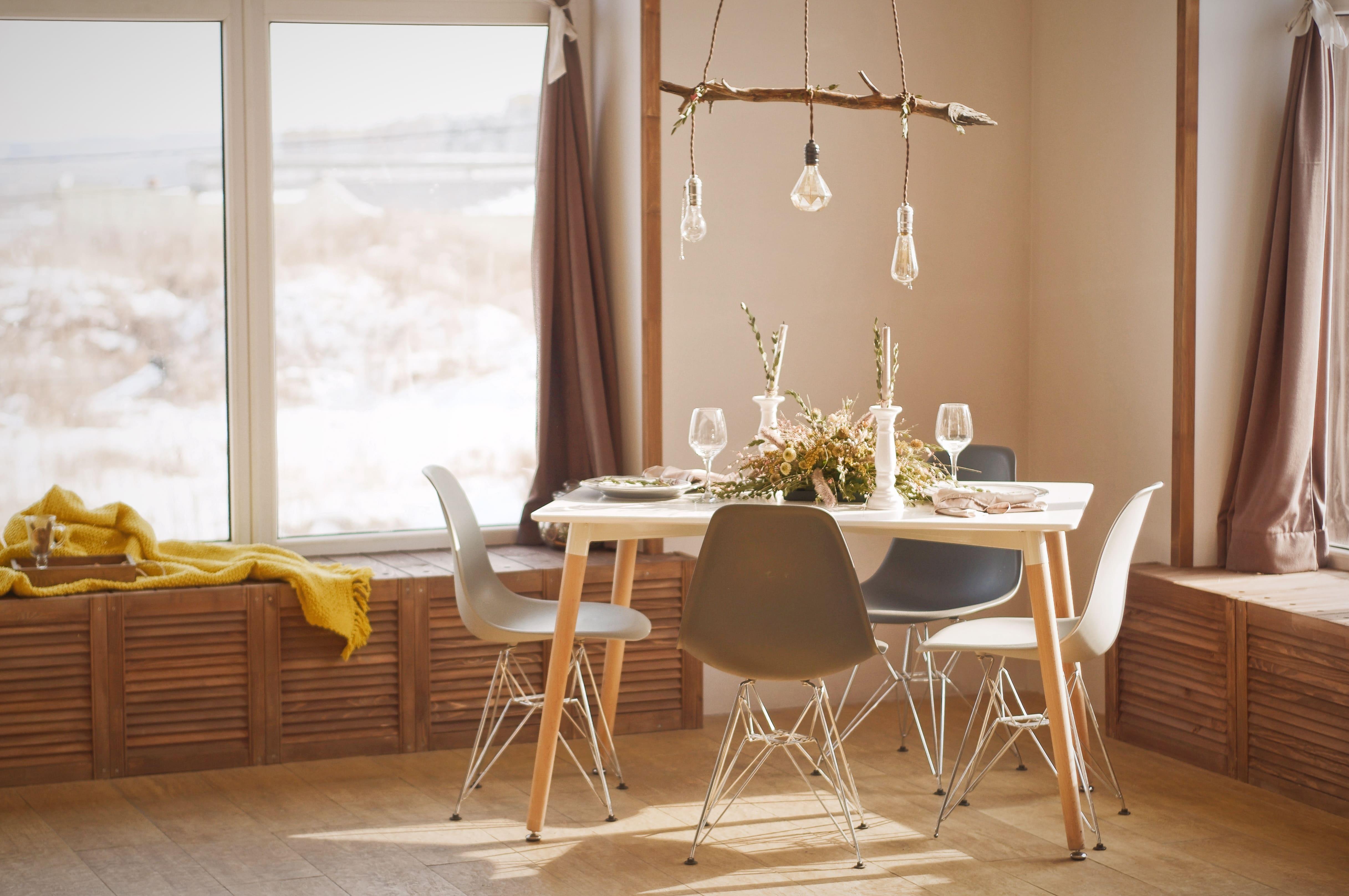 Las casas pequeñas con muy poco espacio pueden ser acogedoras.