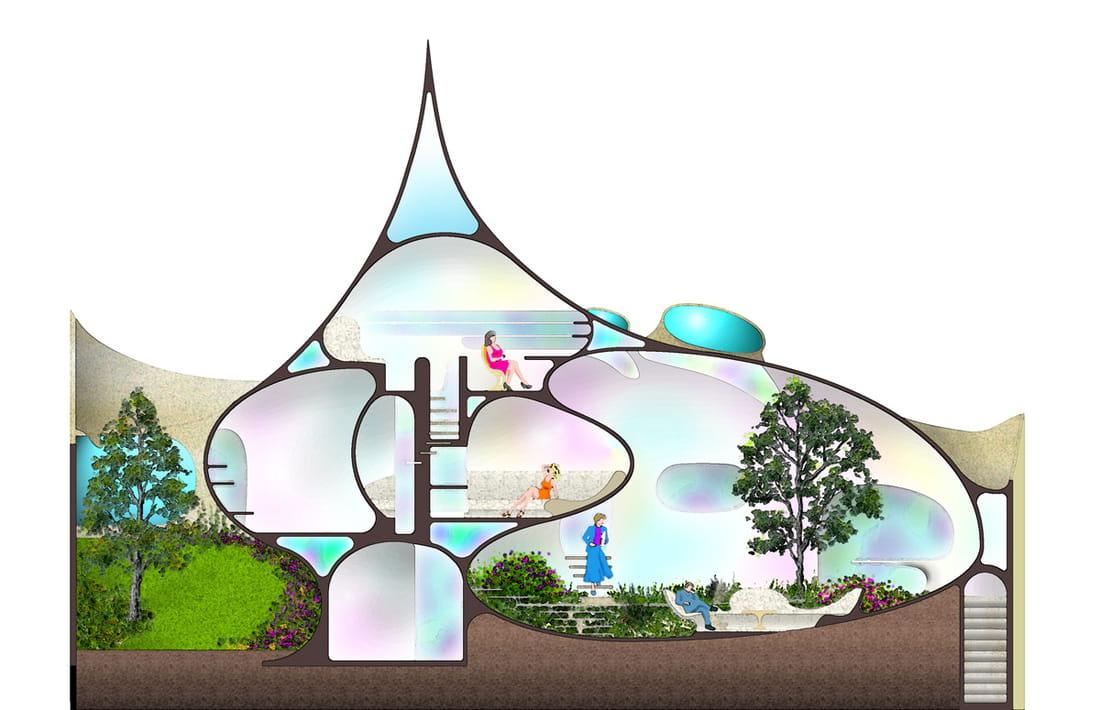 Diseño del proyecto de la casa Nautilus.