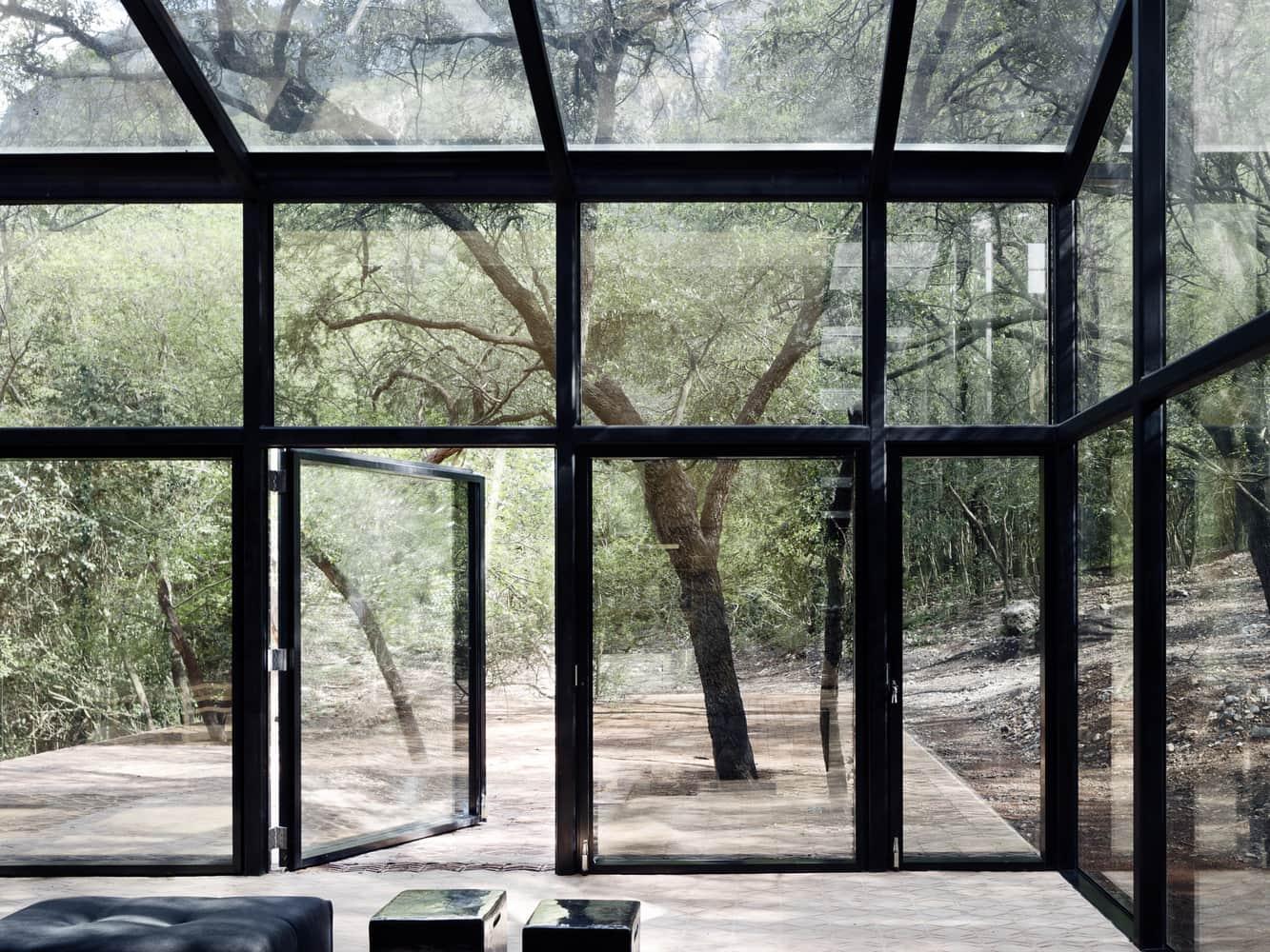 Diseño de interiores de casas minimalistas.