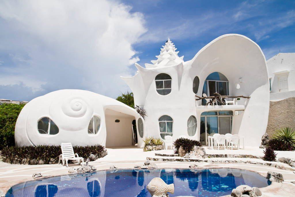La casa orgánica Caracol, se encuentra ubicada en México.