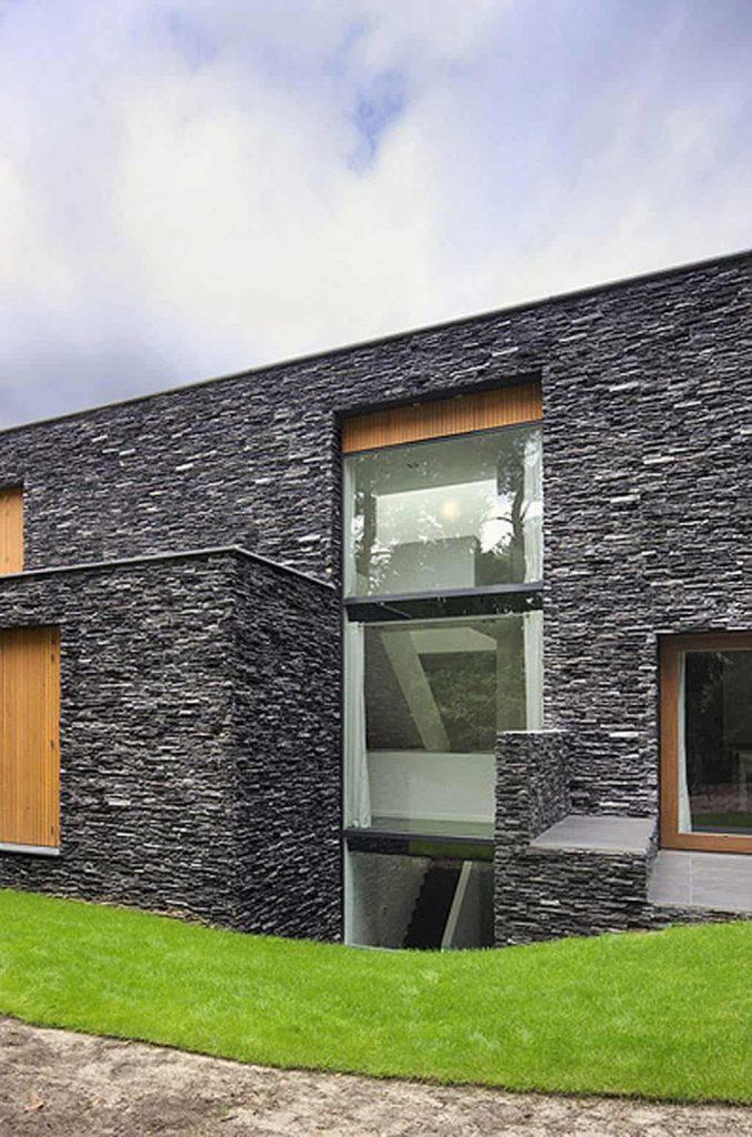 Acabados en piedra para fachadas.